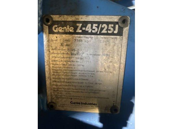 Коленчатый подъемник GENIE Z-45/25