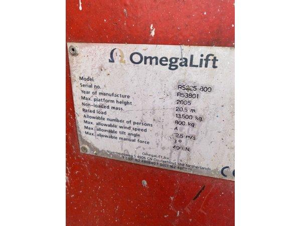 Ножничный подъемник OmegaLift RS 225-800